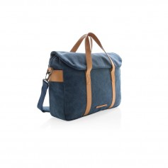 Canvas laptop bag PVC free