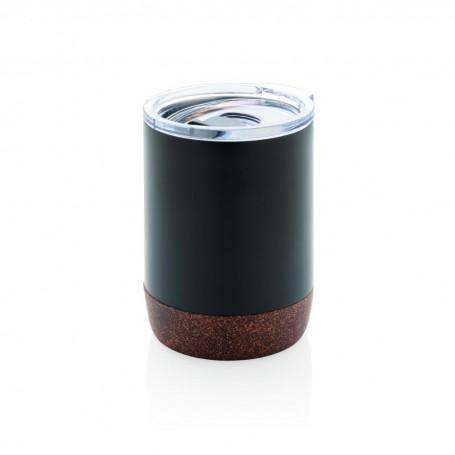 Cork small vacuum coffee mug