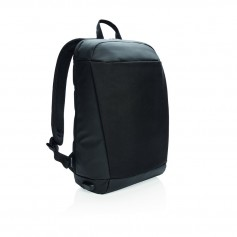 Madrid anti-theft RFID USB laptop backpack PVC free
