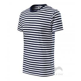 Reklaminiai dryžuoti marškinėliai SAILOR su logotipu