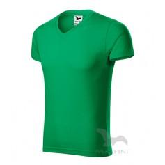 Reklaminiai vyriški marškinėliai V-NECK su logotipu