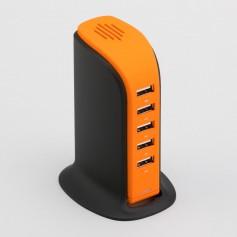 """Spalvinga USB įkrovimo stotelė su logotipu """"TOWER"""""""
