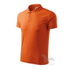 Reklaminiai vyriški POLO marškinėliai PIQUE su logotipu