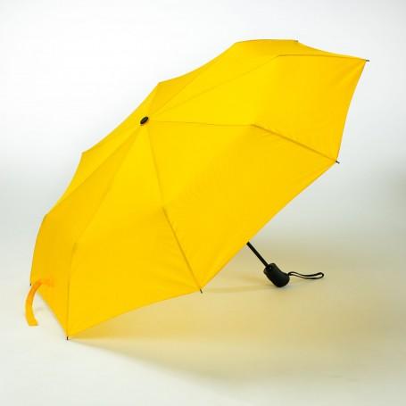 """Įvairių spalvų reklaminis skėtis su logotipu """"QUER"""""""
