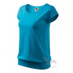 Reklaminiai moteriški marškinėliai CITY su logotipu