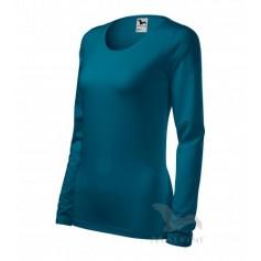 Moteriški marškinėliai ilgomis rankovėmis SLIM