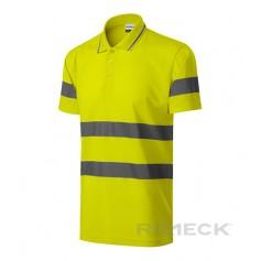 Darbiniai šviesą atspindintys Polo marškinėliai RUNWAY