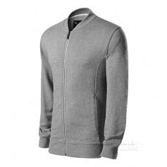 Reklaminis vyriškas džemperis su užtrauktuku ADVENTURE