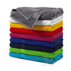 Frotinis rankšluostis BATH su išsiuvinėtu logotipu, 70x140 cm