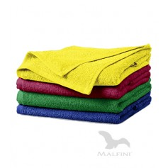 Reklaminis rankšluostis SOFT su logotipu, 50x100 cm