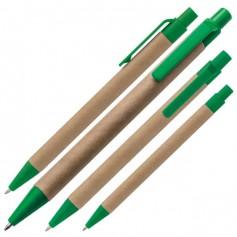 """Spalvingas ekologiškas tušinukas su Jūsų logotipu """"BRISTOL"""""""