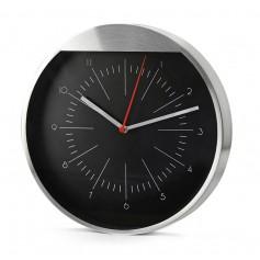 """Modernus metalinis laikrodis su logotipu, užrašu """"MATTO"""""""