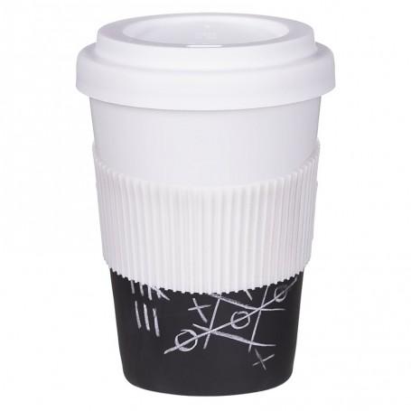 """Reklaminis termo puodelis su Jūsų logotipu ar užrašu """"WARM"""""""