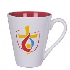 """Keramikinis reklaminis puodelis su Jūsų logotipu """"COLOR"""""""