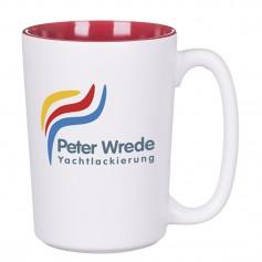 """Keramikinis verslo puodelis su logotipu """"WHITE"""""""