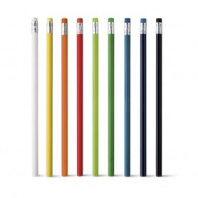 """Spalvoti reklaminiai pieštukai su logotipu """"SMILE"""""""
