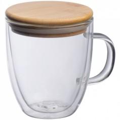 """Stiklinis puodelis su Jūsų pasirinkta spauda """"GLASS"""""""