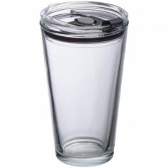 """Stiklinis puodelis su Jūsų norima spauda """"BROKE"""""""