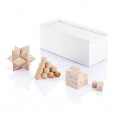 3 pcs brain teaser set