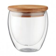 Stiklinis puodelis su Jūsų reklama TIRAN