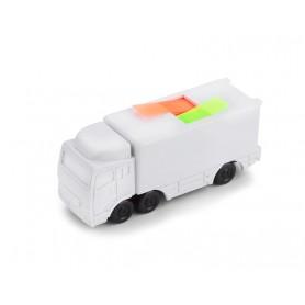 Lapeliai sunkvežimio formoje su Jūsų reklama TRUCK