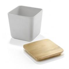 Dėžutė maistui iš bambuko su Jūsų spauda VESO