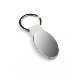 Metalinis ovalo formos raktų pakabukas OVO