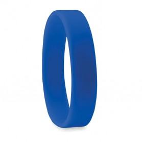 Mėlyna silikonine apyrankė