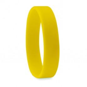 Geltona silikoninė apyrankė