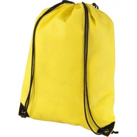 Sportiniai neaustiniai maišeliai su spauda 80g/m2