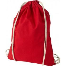 Medvilniniai sportiniai maišeliai su logotipu 100g/m2