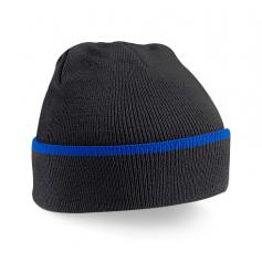 """Reklaminės žieminės kepurėlės su spalvos detale """"TEAMWEAR"""""""