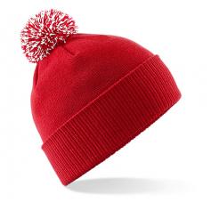 """Reklaminė žieminė kepurėlė su dviejų spalvų burbulu """"SNOWTOUCH"""""""