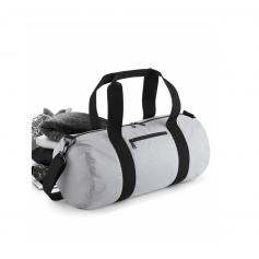 """Reklaminiai atšvaitiniai krepšiai su logotipo spauda """"BARREL BAG"""""""