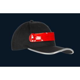 """Reklaminės atšvaitinės beisbolo kepurėlės su LED juostele """"LED"""""""