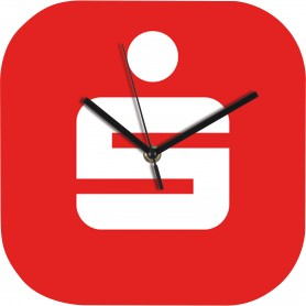 """Reklaminiai išskirtiniai sieniniai laikrodžiai su Jūsū spauda """"AIR"""""""