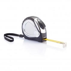 Chrome plated auto stop tape measure