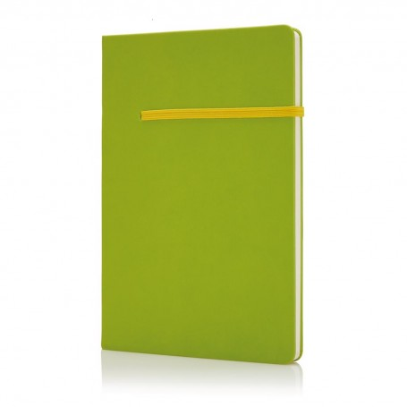 A5 notebook with horizontal band
