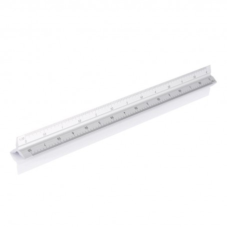 Aluminium triangle rule - 30cm