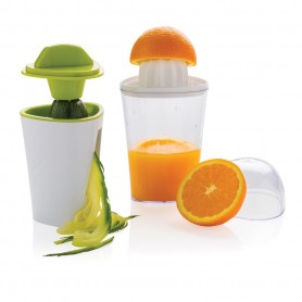 2-in-1 spiral slicer and juicer