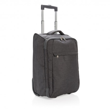 Two tone foldable trolley