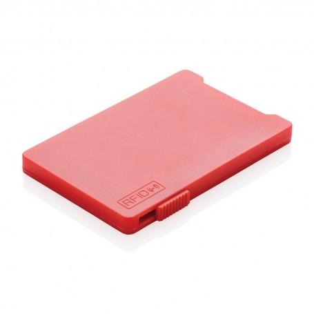 Multiple cardholder with RFID anti-skimming