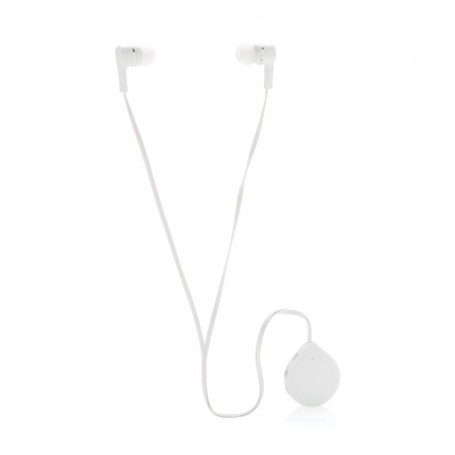 Wireless earbuds with clip