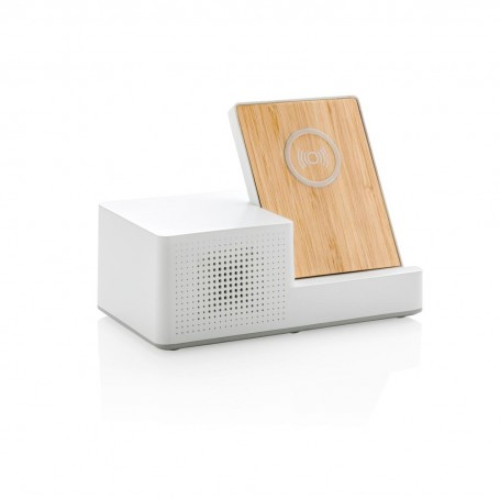Ontario 5W wireless charger with speaker