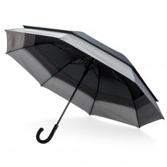 "Swiss Peak 23"" to 27"" expandable umbrella"